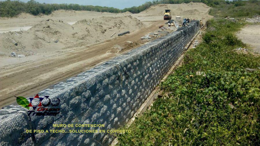 Muro de contenci n for Construir muro de bloques